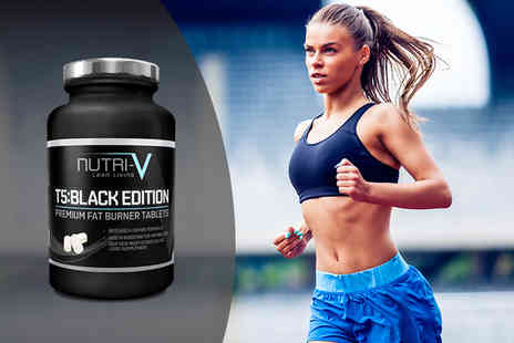 Nutri V - One month supply of T5 Black Edition Fat Burner tablets - Save 77%