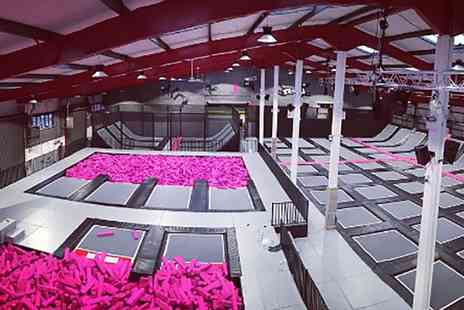 Freedog - Access to Trampoline Park Halloween Party for Up to Four - Save 25%