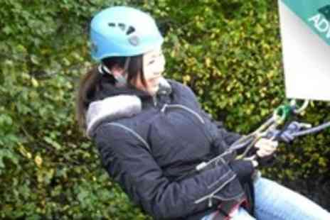 Large Outdoors - Abseiling Plus Peak District Walk - Save 60%