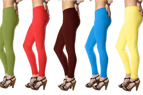 Nothing New 2 Wear - Colourful Viscose Leggings 13 Colours, 2 Sizes - Save 30%