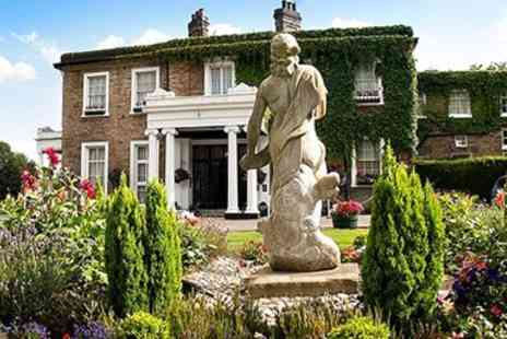 Ringwood Hall Hotel - Two Night Manor House Stay near Peak District - Save 42%