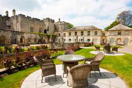 Mosaic Spa & Health - Hazlewood Castle Spa Treat with Mud Chamber & Tea for 2 - Save 56%