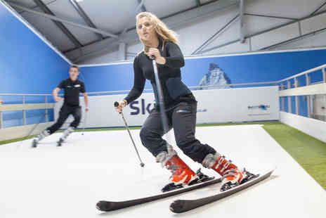 Skiplex - One hour ski or snowboarding lesson for one - Save 53%