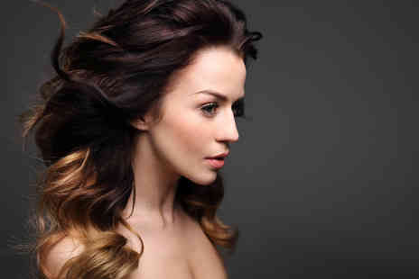 Gemini Hair Fashion - Cut and blow dry with a half head of highlights or ombre dye - Save 0%