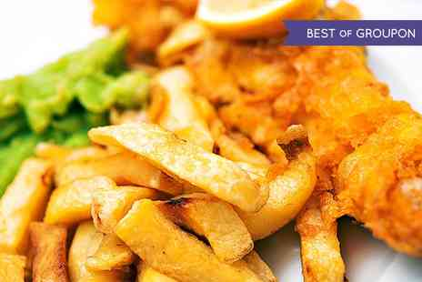 The View - Fish and Chips with a Drink for Two or Four - Save 50%