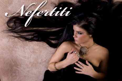 Nefertiti Beauty Retreat - Half Head of Real Hair Extensions for £99 - Save 62%