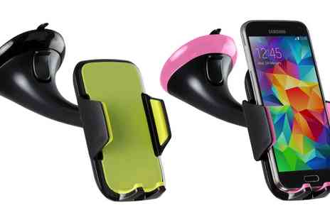 Groupon Goods Global GmbH - Kit Universal Smartphone Holder with Silicone Pad Bulk - Save 0%