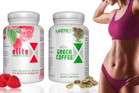 Groupon Goods Global GmbH - 60 Matrix Green Coffee Tablets and 60 Ketones Tablets - Save 0%