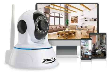 Groupon Goods Global GmbH - Up to Four Zennox Wireless IP HD Surveillance Cameras With Free Delivery - Save 63%