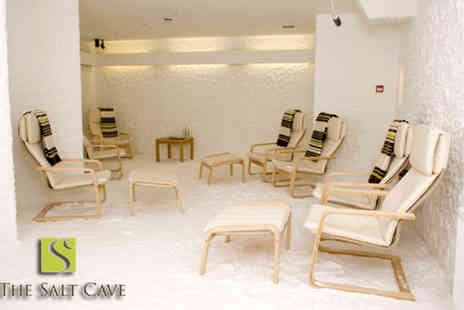 Salt Cave Edinburgh - One hour salt therapy session - Save 71%