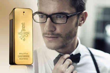 Deals Direct - Mens 50ml, 100ml or 200ml Paco Rabanne 1 Million EDT - Save 41%