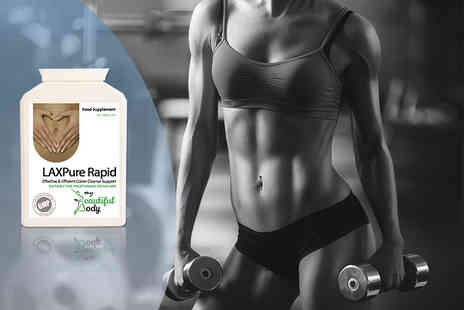 Real Protein - One month supply of LAXPure Rapid bowel cleanser - Save 60%