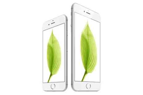 Groupon Goods Global GmbH - Apple iPhone 6 or 6 Plus Silver With Free Delivery - Save 15%