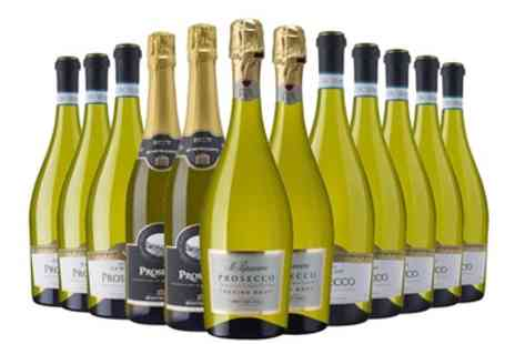 Laithwaites Wine - Six or Twelve Bottles of Mixed Prosecco With Free Delivery - Save 47%