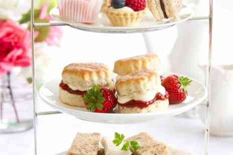 Rosie's Tea Room - Savoury Afternoon Tea for Two or Four with Optional wine - Save 50%