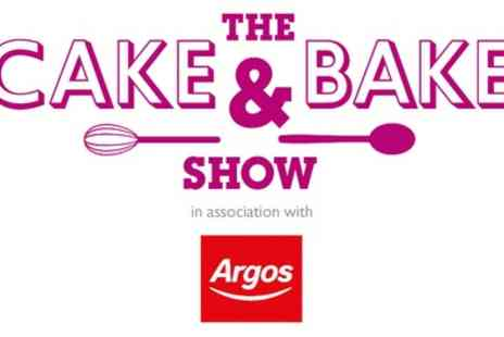 The Cake & Bake Show - The Cake & Bake Show on 7 To 9 October - Save 33%