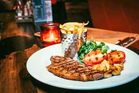 Saint Judes - Sirloin or Rib Eye Steak Dinner for Two or Four - Save 0%