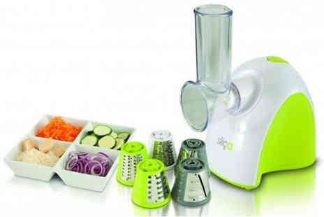 Trizinga - Five Function Electric Vegetable Slicer - Save 0%