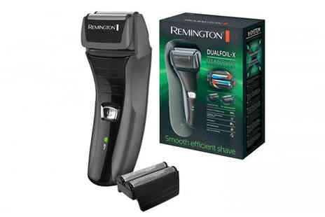 Trizinga - Remington F4800 Dual Foil Electric Shaver - Save 0%
