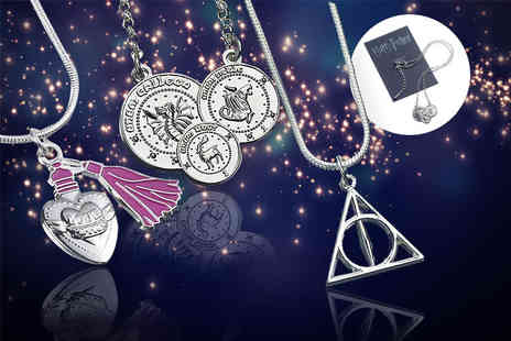 Aspire - Harry Potter necklace choose from Deathly Hallows, Gringotts Coins or Love Potion - Save 61%