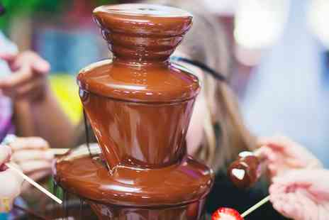 Chocolate Dipping Illusions - Three Hour Chocolate Fountain Hire for Up to 100 Guests - Save 0%