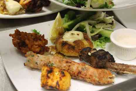 Ishys Bar Lounge Grill - Two-Course Indian Meal for Up to Six - Save 62%