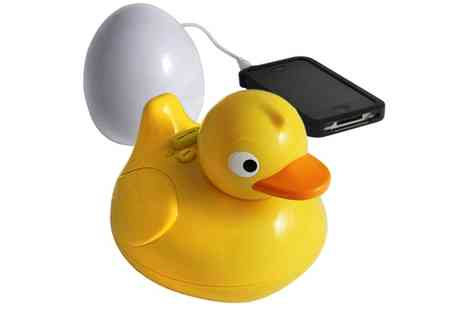 Groupon Goods Global GmbH - iDuck Wireless Bluetooth Waterproof Bathroom Speaker - Save 0%