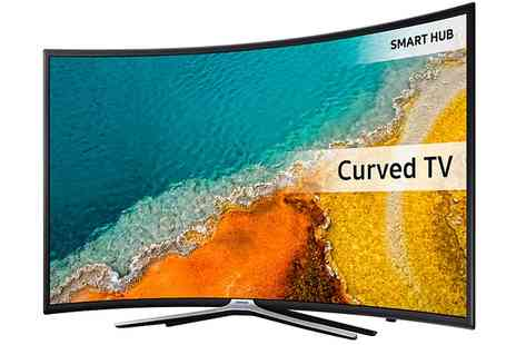 Groupon Goods Global GmbH - Samsung UE40K6300 Curved LED Full HD 1080p 40 Inch Smart TV With Free Delivery - Save 0%