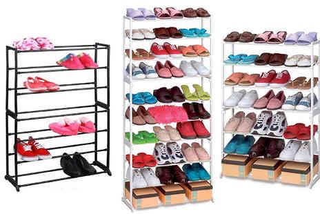 Megastore 247 - Shoe Organising Rack 7 or 10 Tier - Save 0%