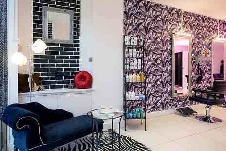 Salon Zone Boutique - Full Head Highlights, Haircut and Blow Dry - Save 22%