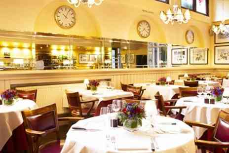 London Steakhouse Company - Three Course Meal & Cocktails for 2 - Save 49%