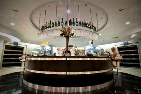 Toms Champagne Bar - Bottle of Prosecco and canapes for 2 people - Save 45%