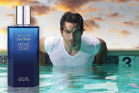 The Beauty Store - Mens 75ml Davidoff Cool Water Night Dive EDT - Save 61%