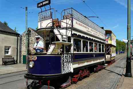 National Tramway Museum - Adult or Family ticket to the National Tramway Museum - Save 25%