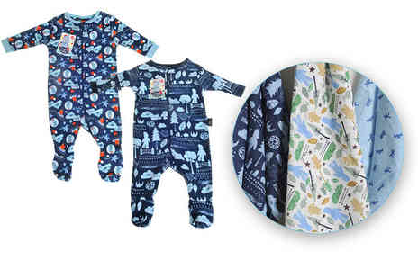 Zippy Baby - In the Night Garden baby bundle including three muslins and a babygrow - Save 44%