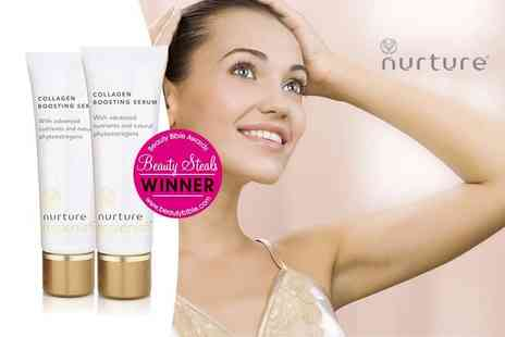 Healthspan - 30ml tube of Nurture Replenish collagen boosting serum Plus Delivery Included - Save 53%