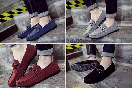 EF Mall - Pair of mens casual loafers choose from four colours - Save 72%