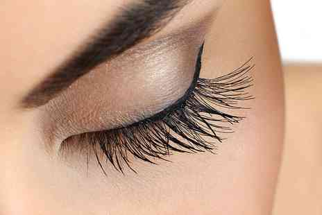Bs Skin and Beauty Laser Clinic - Full Set of Cluster Eyelashes with Optional Wax and Tint - Save 40%
