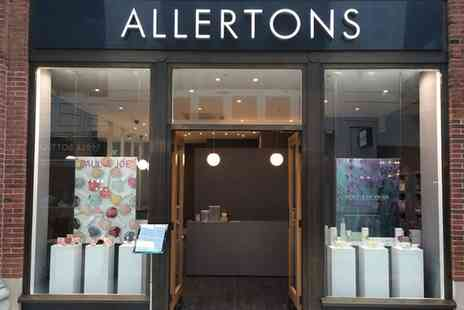 Allertons - Make Up Lesson with a Mini Makeover - Save 66%