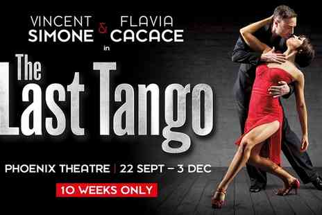 ATG Tickets - Last Tango, Price Band B, Price Band A and Premium Tickets on 28 September To 30 November - Save 50%
