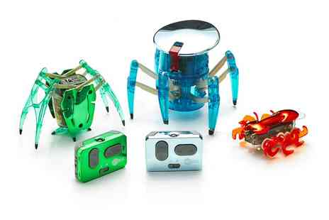 Groupon Goods Global GmbH - Hexbug Limited Edition Chrome Remote Control Triple Pack - Save 0%