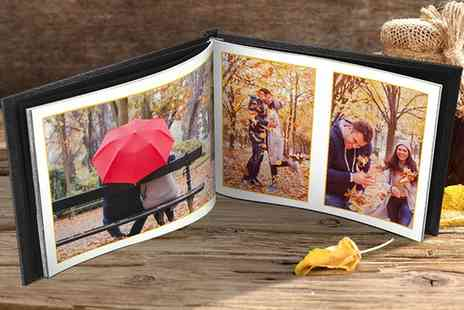 Printerpix - One or Two Leather Photobooks in Choice of Size - Save 0%