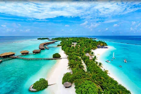 Sheraton Maldives Full Moon Resort - Five Star 7 nights Stay in a Beach Front Deluxe Room - Save 51%