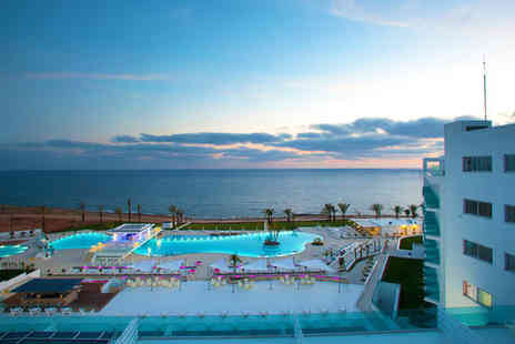 King Evelthon Beach Hotel - Five Star 5 nights Stay in a Side Sea View Room - Save 58%