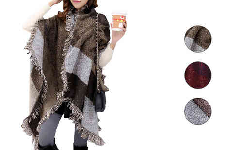Graboom - Oversized Fashion Scarf Choice 3 Colours - Save 0%