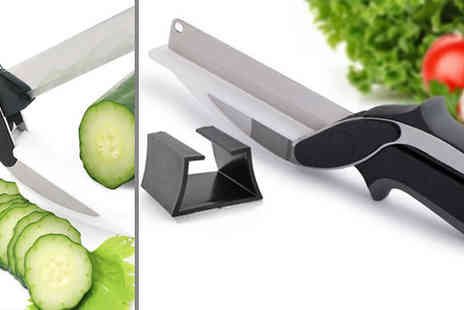 Intradify - Vegetable Cutting Scissor Knife - Save 0%