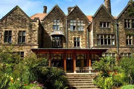 Jesmond Dene House Hotel - Newcastle Boutique Hotel Stay with Meals & Bubbly - Save 29%
