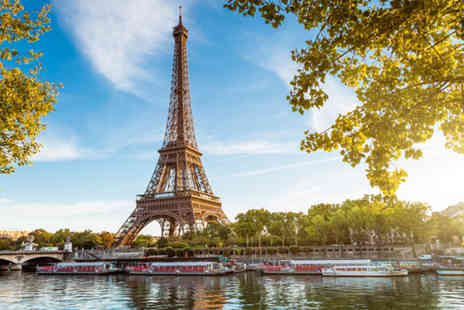SuperBreak - Two night Paris shopping break with breakfast and return coach travel - Save 0%
