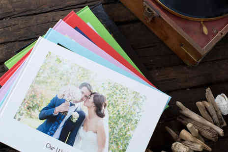Huggler - 100 page personalised photo book - Save 74%
