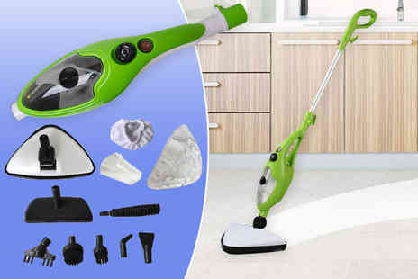 Home Empire - 1500w 10 in 1 steam mop - Save 71%